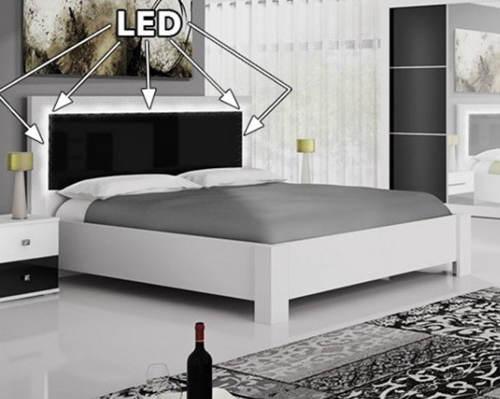 LED postel do moderní ložnice