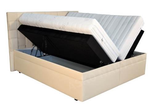 Americká postel s úložným prostorem