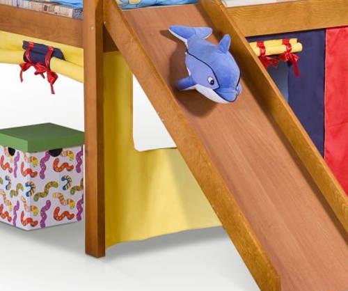 Dětská postel s domečkem