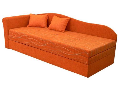 Rozkládací postel válenda s molitanovou matrací