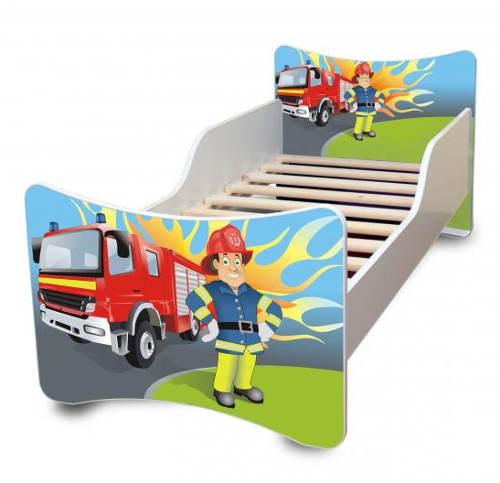 Dětská postel Hasič 180x80cm