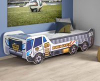 Dětská rostoucí postel autíčko