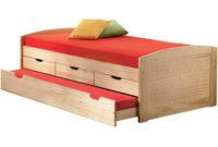 Jednolůžková postel s přistýlkou a úložnými prostory