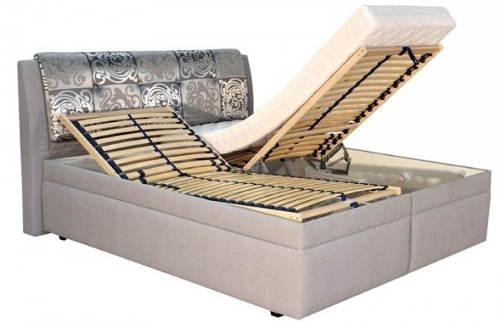 Manželská polohovací postel