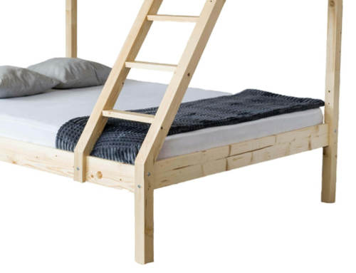 Patrová postel se spodním lůžkem 140x200 cm