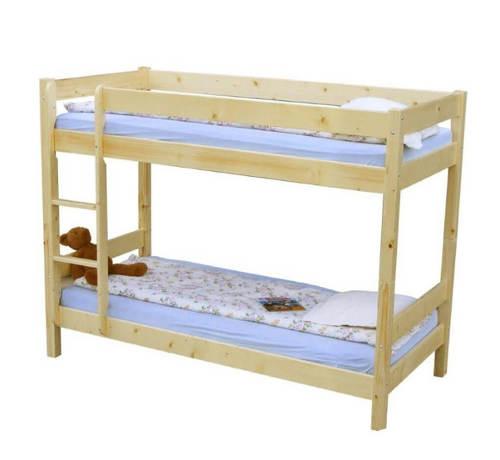 Patrová postel smrk 90x200 cm