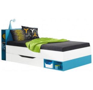 Studentská postel 200x90 s uložným prostorem
