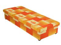 Válenda s úložným prostorem a polyuretanovou matrací