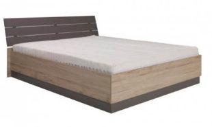 Zvýšená manželská postel 160 DIONE