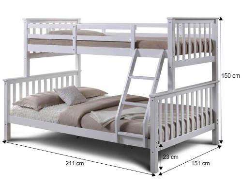 Atypická poschoďová postel