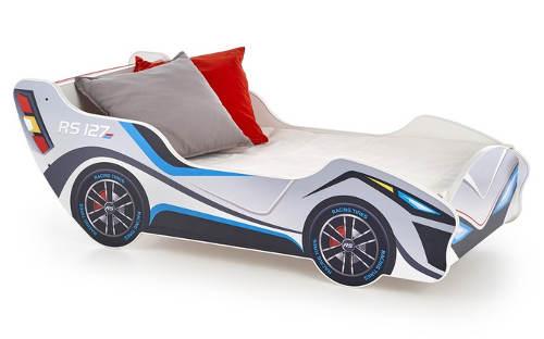 Klučičí postel závodní auto