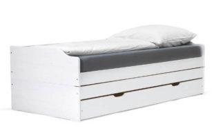 Masivní postel rozložitelná na dvě nebo tři lůžka