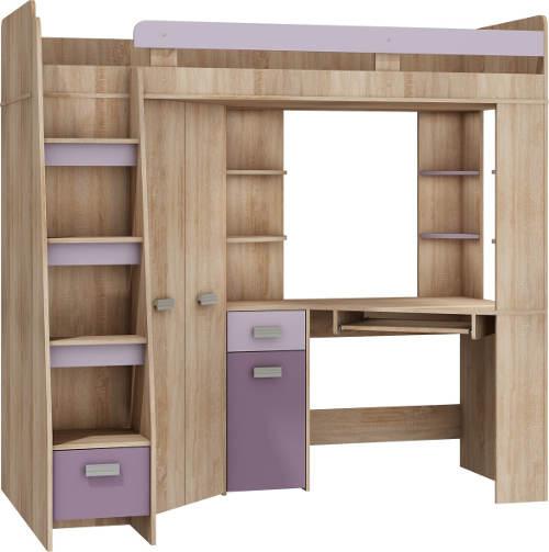 Patrová postel pro jedno dítě