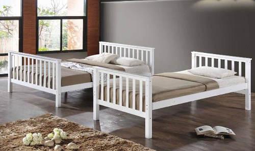 Patrová postel rozložitelná na dvě samostatné lůžka