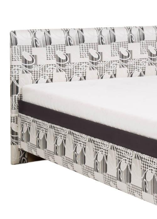 Česká čalouněná jednolůžková postel