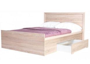 Dřevěná francouzská postel Finezja