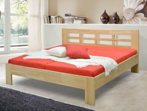 Manželská postel masív výprodej