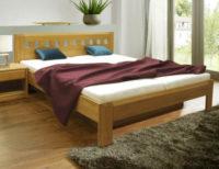Masivní rám postele Camira Lux 180x200