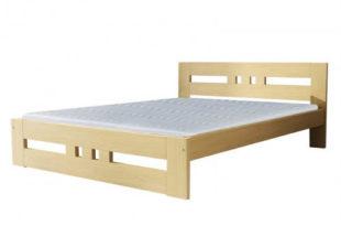 Minimalistická borovicová postel 90x200 cm
