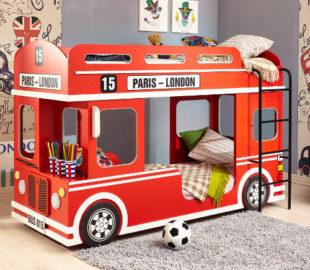 Patrová postel autobus double-decker