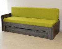 Rozkládací postel a gauč v jednom
