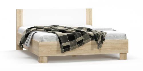 Dvoulůžková postel dekor dub sonoma