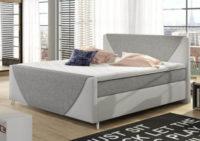 Luxusní celočalouněná americká postel Velvet