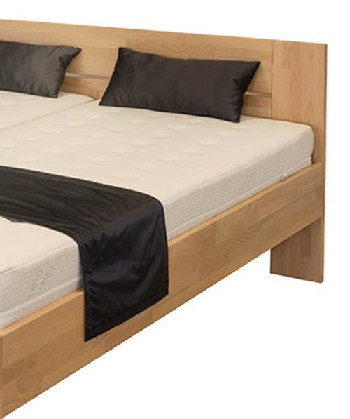 Manželská postel masiv buk