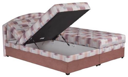 Polohovací čalouněná postel