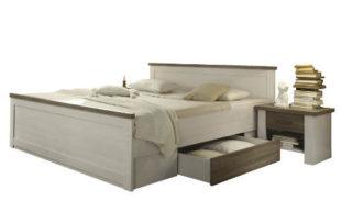 Vintage postel 180x200 s nočními stolky