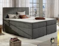 Vysoká manželská postel s luxusním čalouněním