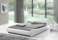 Futuristická postel FILIDA s LED osvětlením