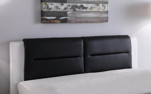 Manželská postel koženka