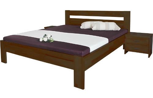 Pevná a stabilní postel s excentrickým kováním