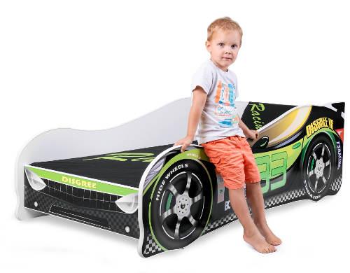 Chlapecká postel závodní auto