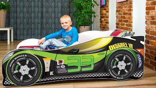 Dětská závodní postel Lewis