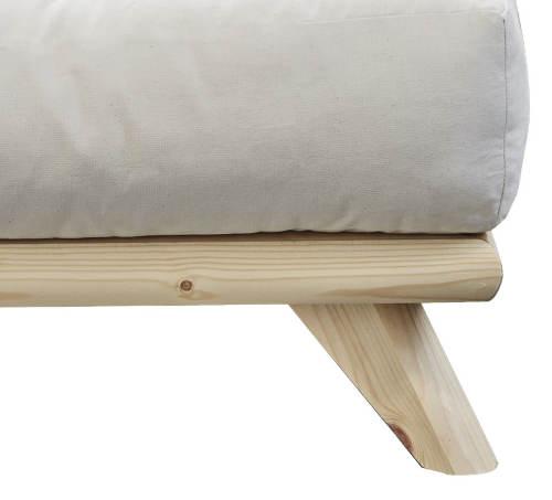 Jednolůžková japonská postel