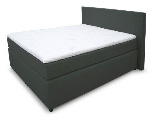 Komfortní boxspring postel se dvěmi matracemi