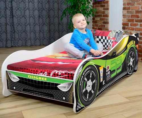 Kompletní dětská postel auto