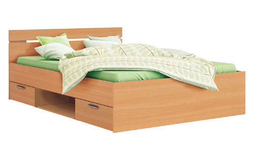 Levná multifunkční postel 140x200