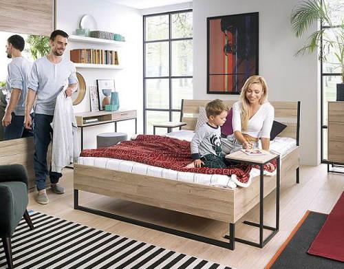 Moderní ložnice pro mladé