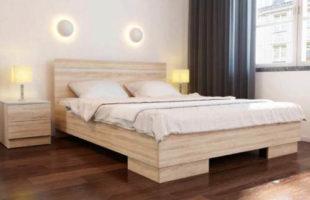 Moderní manželská postel 160 VISTA
