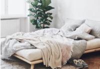Nízká postel 140x200 cm