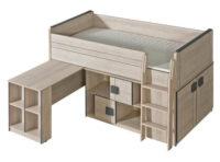 Patrová multifunkční dětská postel Gemo