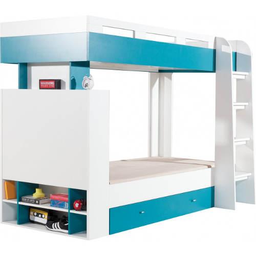 Patrová postel do pokojíku teenageru