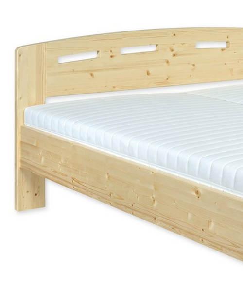 Smrková manželská postel 180x200 cm