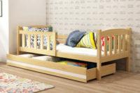 Dětská borovicová postel Kubus 80x160 cm