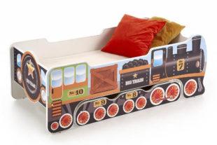 Dětská postel vláček