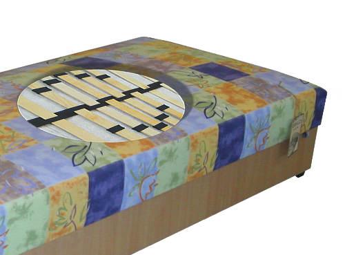 Kompletní jednolůžková postel válenda