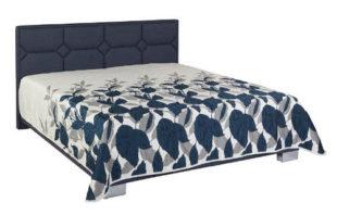 Kompletní manželská postel s polohovacím roštem